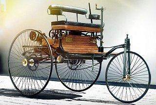 Первый автомобиль с бензиновым ДВС созданный Карлом Бенцем