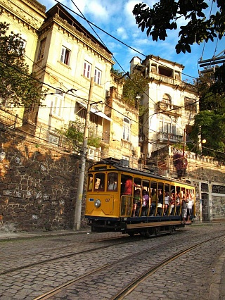 Трамвай в Рио