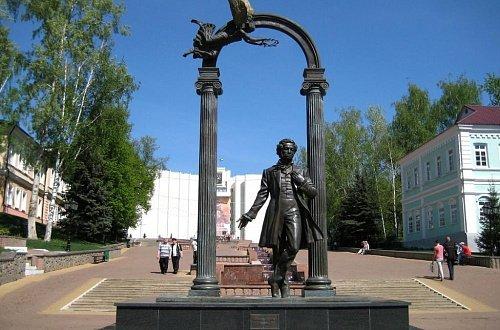 Памятник Пушкину в Саранске