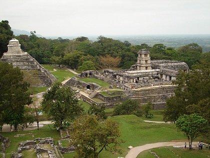 Вид на древний город