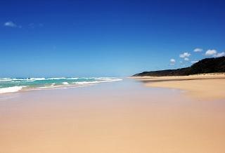 Пляж на острове Фрейзер