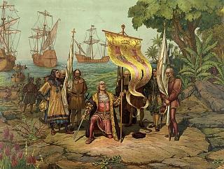 Испанский мореплаватель Христофор Колумб открывает Америку в 1492 году