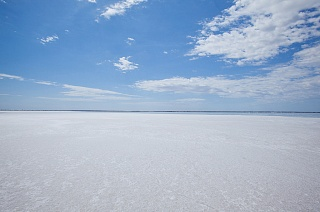 Солончак озера Эйр