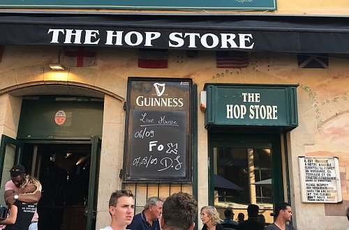 The Hop Store Irish Pub