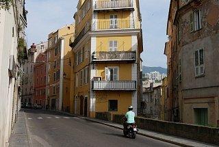 Улица в Бастии Остров Корсика, Франция Франция Корсика туры корсика Остров Корсика, Франция Ulitsa v Bastii