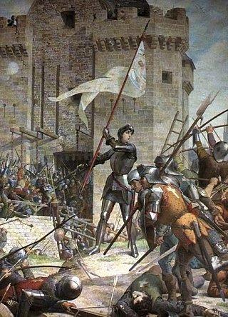 Жанна д'Арк при осаде Орлеана