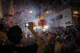 Танцевальный фестиваль Tai Hang Fire Gragon