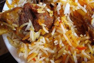 бирьяни – рис с мясом и карри