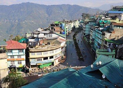 Город Ганток на севере Индии