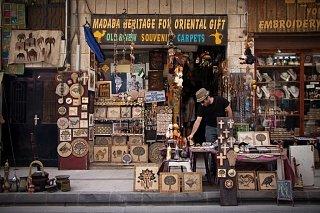 Сувенирный магазин в Мадабе