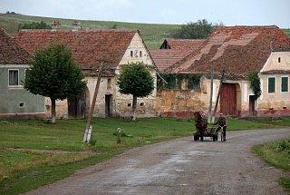 Деревня в Трансильвании