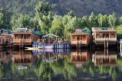 Плавучие дома Срингара (Шрингара)