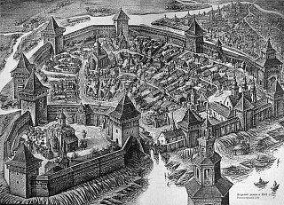 Луцкий замок XVI в