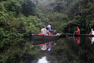 По Амазонии на каное