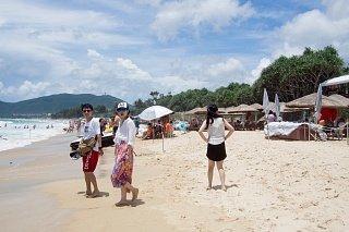 Пляж на острове Хайнань