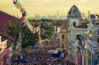 Олинда — место начала бразильского карнавала