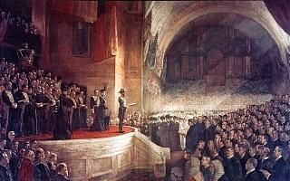 Открытие первого австралийского парламента в 1901 году