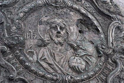 Изображение царя Алексея Михайловича Романова на Царь-колоколе