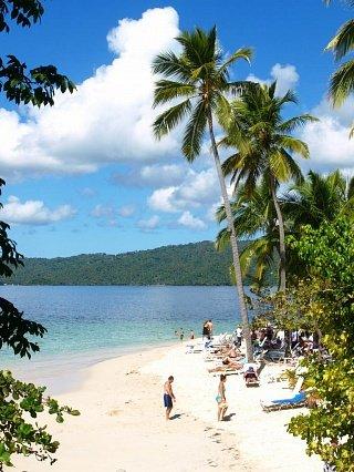 Пляж на полуострове Самана
