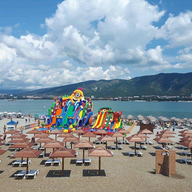 Лазаревское пляж фламинго фото все вопросы